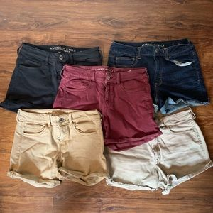 5 Pairs of American Eagle Shorts